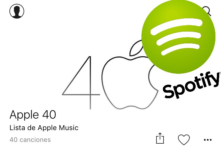 Apple 40 – Lista en Spotify